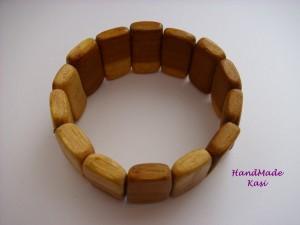 Drewniana bransoleta
