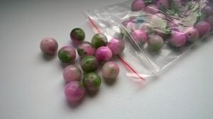 jadeit wrzosowo zielony