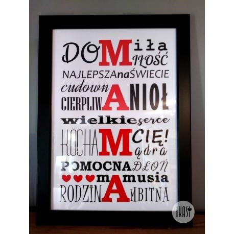 Plakat dla Mamy 2