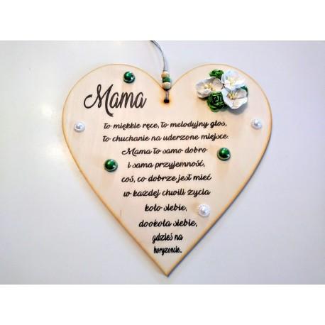 """Serce wiszące """"Mama"""" 1"""