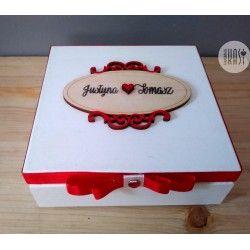 Pudełko ślubne 2